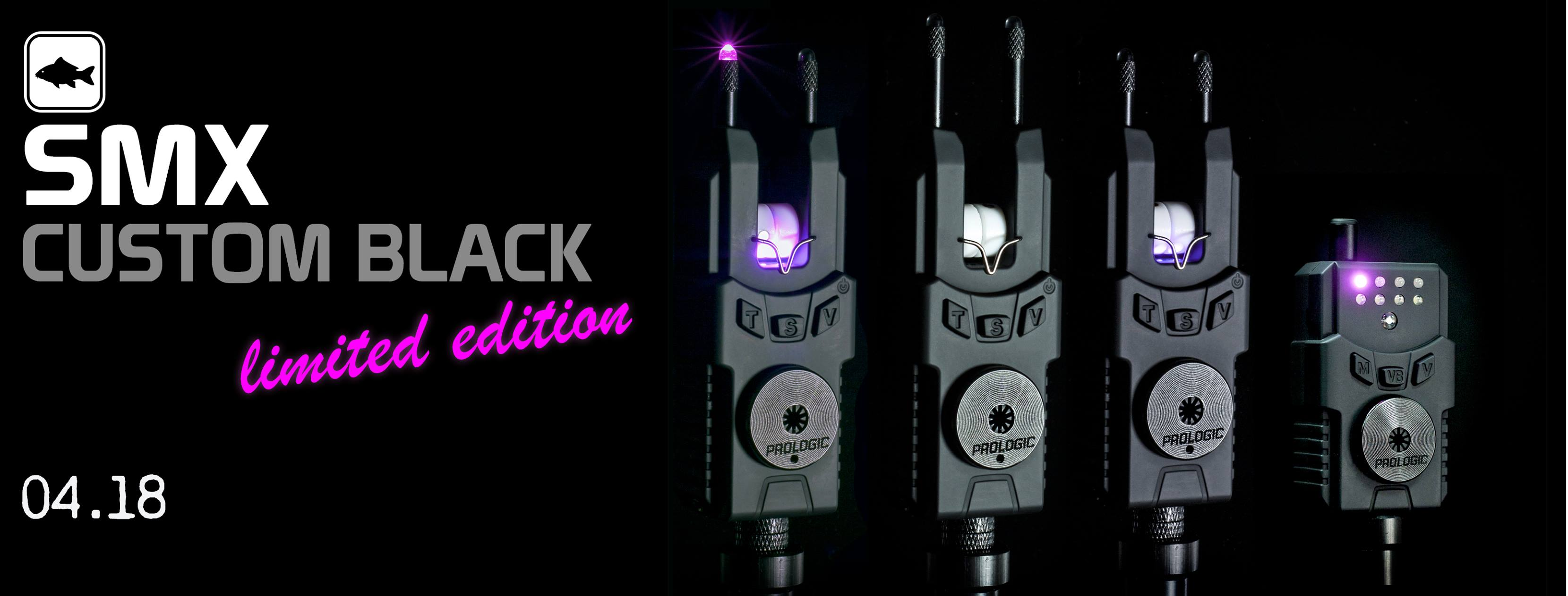 Prologic SMX Custom Black Bite Alarms